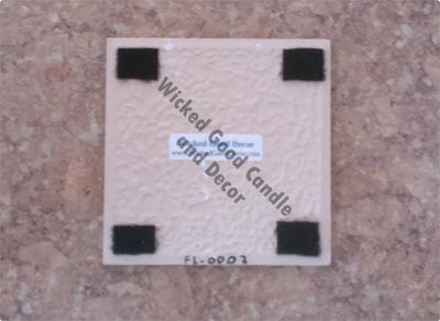Decorative Ceramic Tile Flower Collection - Flower 0013 -  - Wicked Good Candle and Decor - 2