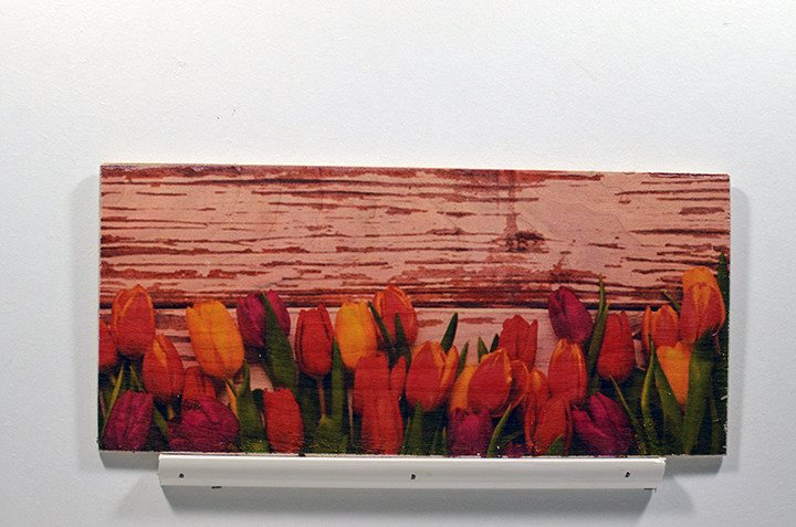 Wooden Wall Sign 10x5 - C011 - Tulips -  - Wicked Good Candle and Decor - 1