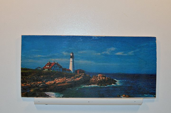 Wooden Wall Sign 10x5 - C017 - Portland Head lighthouse -  - Wicked Good Candle and Decor - 1