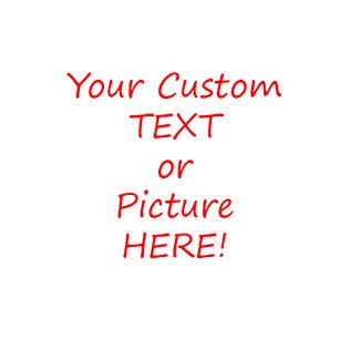 Decorative Ceramic Tile - Your Custom Text or Picture on the Tile! - Wicked Good Decor