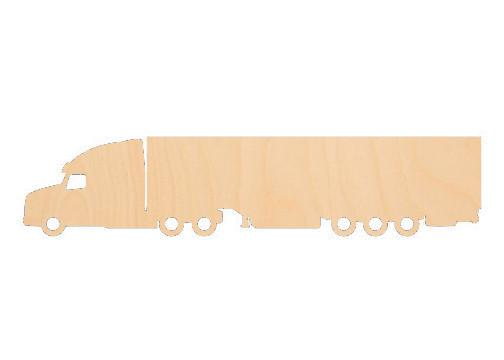 18 Wheeler - Laser Cut Shapes - Sports-Vehicles