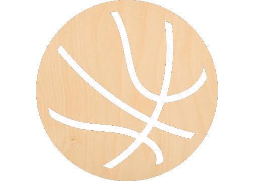 Basketball - Laser Cut Shapes - Sports-Vehicles