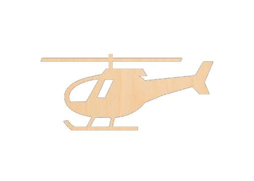 Helicopter 1 - Laser Cut Shapes - Sports-Vehicles