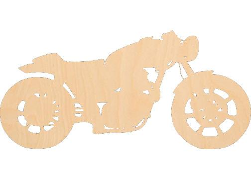 Motorcycle 2 - Laser Cut Shapes - Sports-Vehicles