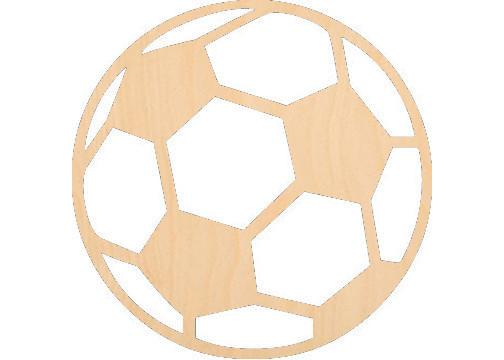 Soccer Ball - Laser Cut Shapes - Sports-Vehicles