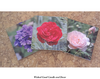 Decorative Ceramic Tile Flower Collection - Flower 0008 - Wicked Good Decor