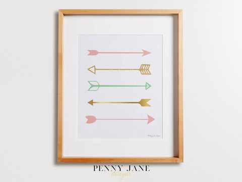 Arrows Art Print