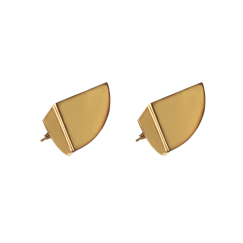 AVE EARRINGS IN GOLD