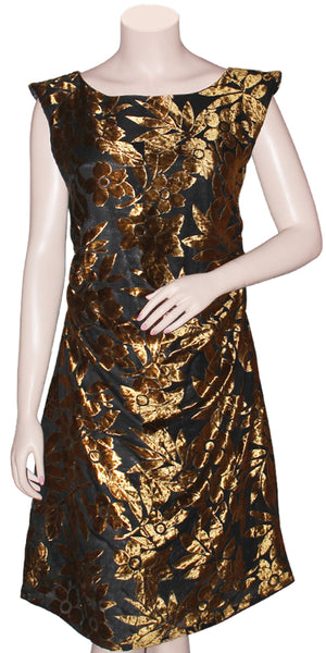 Buy designer fashion midi dresses at the best rates in the USA & Canada. Velvet Brasso knee length dress beautiful unique stylized boat neck for festivals weddings & parties Fully Stitched sleeveless fit flare BOHO chich contemporary stylized unique comfortable custom styles indo-western Darpaha buy shop Sale.