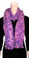 Hand-woven or knitted weaving, soft & lightweight Multicolor Scarf/Long-muffler