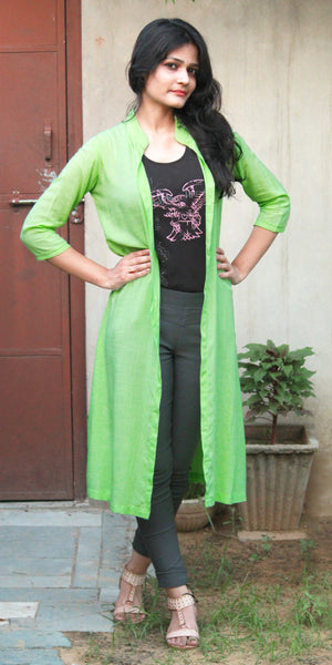 Light Green Rayon Shrug