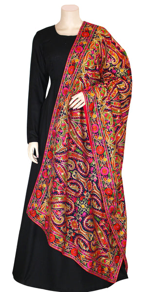 Royal Multi Color Pashmina Shawl/Dupatta
