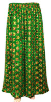 Yellow & Green Phulkari Palazzo Pants Suit