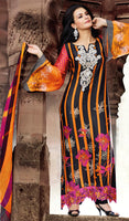 Designers Pakistani Styled Cotton Long Suit SMB-102
