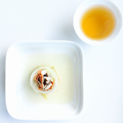 Cabbage Roll with Moonlight White Pu'erh