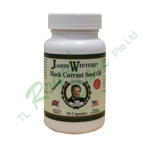 Jason Winters Black Current Seed Oil, 50 Capules