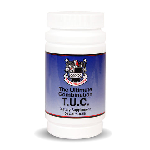 (T.U.C) The Ultimate Combination of the World's most potent herbs.