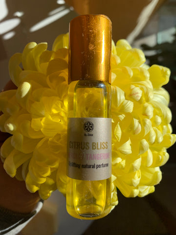 CITRUS BLISS Natural perfume roll on, 15 ml.