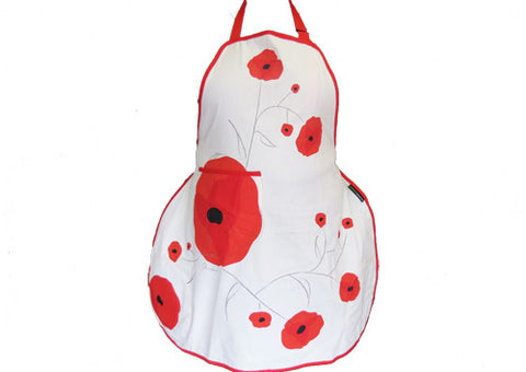 Apron Poppy Red