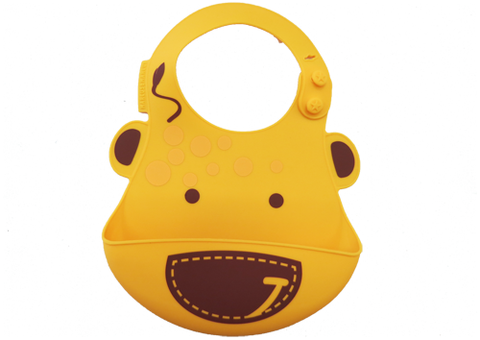 Bib Yellow Giraffe