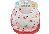 Bib Roll Neck swan flamingo