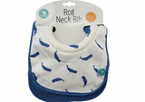 Bib Roll Neck whale