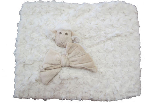 Blanket Curly Lamb Off White