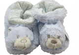 Booties Blue Teddy