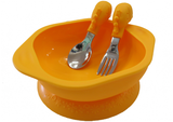 Bowl-and-Cutlery-Set-Lola Giraffe