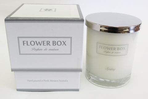 Candle Flower Box - Spring