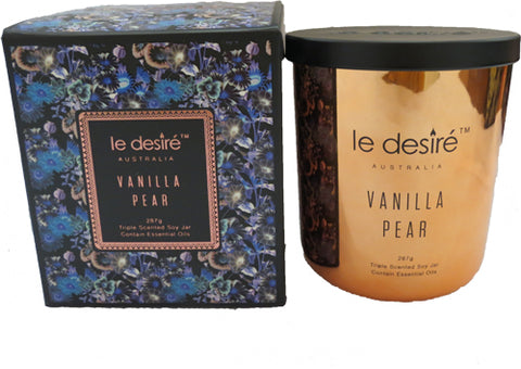 Candle Luxe by Le Desire - Vanilla Pear