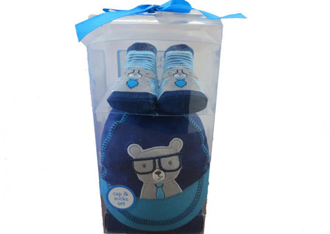 Cap and Sock Set Cool Bear