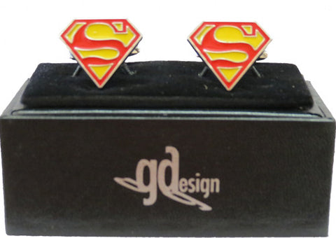 Cufflinks Superhero
