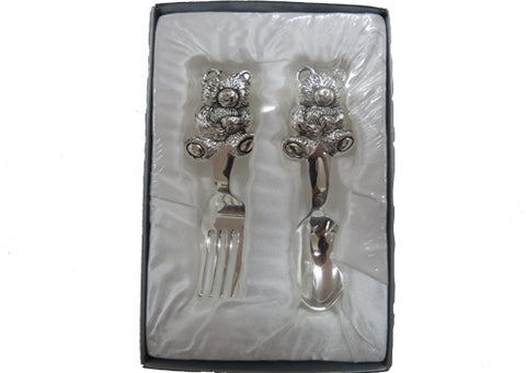 Cutlery Set Child Bear Spoon and Fork