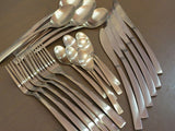 Cutlery Set 24 Piece - Matt Rose