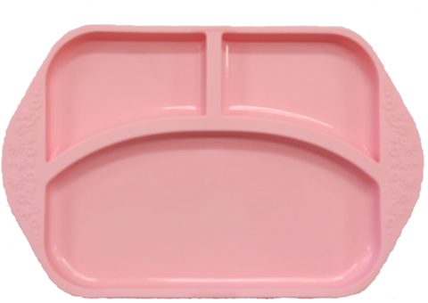 Divided Plate Pink Pig
