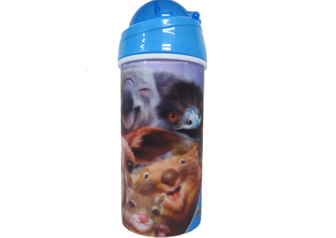 Drink Bottle - Animal Selfie