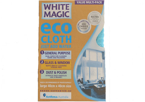 Eco Cloth White Magic Household Pack 3