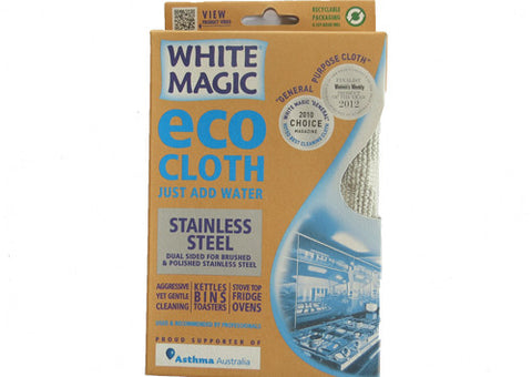 Eco Cloth White Magic Stainless Steel