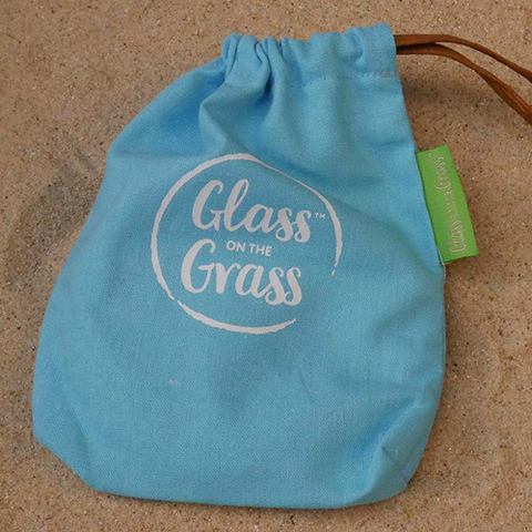 Glass on the Grass Coaster Set - Beach Collection