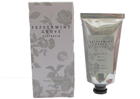Hand Cream Peppermint Grove Gardenia