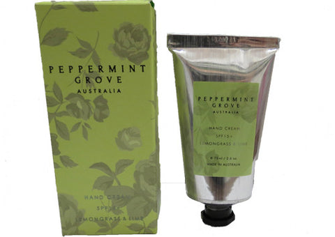 Hand Cream Peppermint Grove Lemongrass & Lime