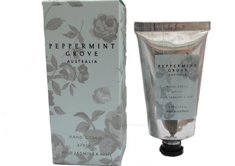 Hand Cream Peppermint Grove Wild Jasmine & Mint