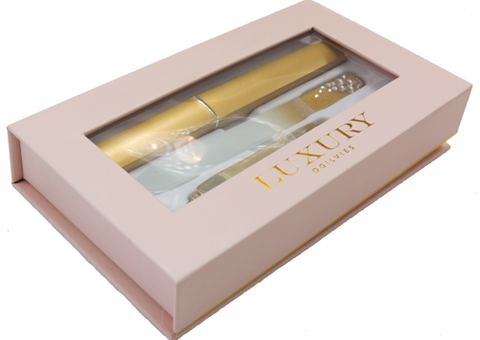 Luxury Nail & Clipper Set - Gold