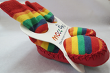 Socks / Moccons - Rainbow