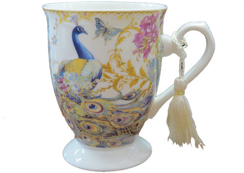 Mug Cone Golden Peacock