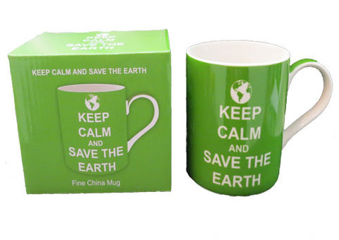 Mug - Keep Calm And Save The Earth