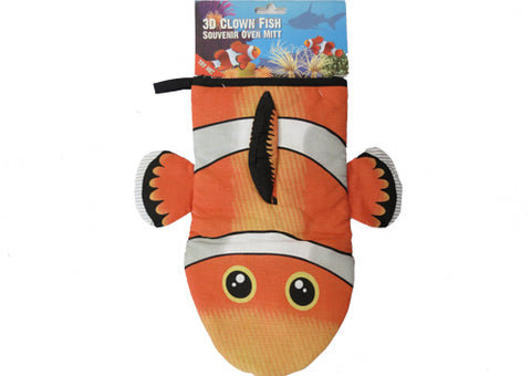 Oven Mitt - Clown Fish