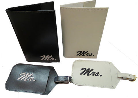 Passport Set - Mr & Mrs