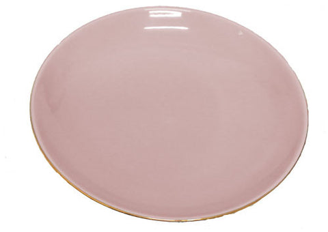 Pink Cake Plate Side Plate